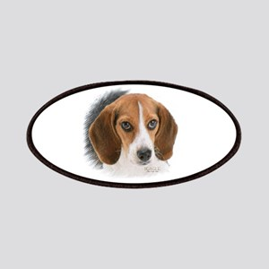 Beagle Close Up Patches