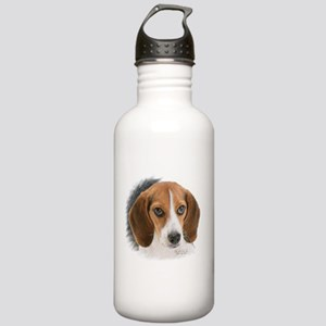 Beagle Close Up Stainless Water Bottle 1.0L