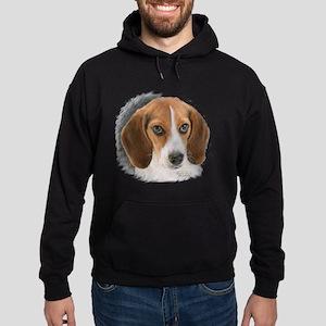 Beagle Close Up Hoodie (dark)