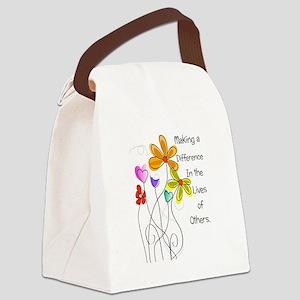 Caregiver Canvas Lunch Bag