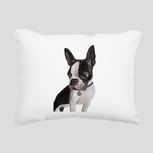 Poser Rectangular Canvas Pillow