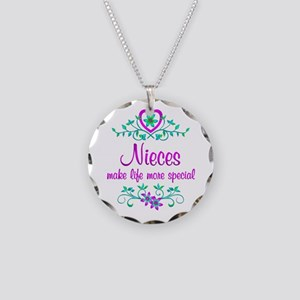 Special Niece Necklace Circle Charm