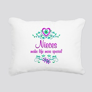 Special Niece Rectangular Canvas Pillow