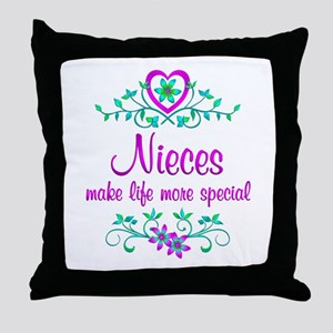Special Niece Throw Pillow