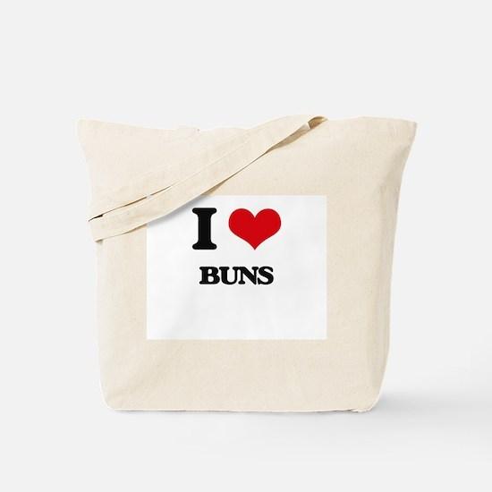 I Love Buns Tote Bag