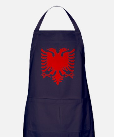 Double Headed Griffin Apron (dark)