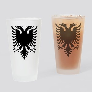 Double Headed Griffin Drinking Glass