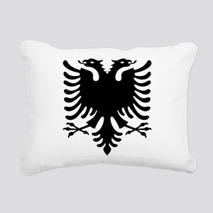 Double Headed Griffin Rectangular Canvas Pillow