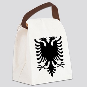 Double Headed Griffin Canvas Lunch Bag