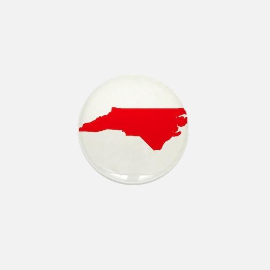 North carolina Mini Button
