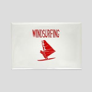windsurfing windsurfer v10 graphic Magnets