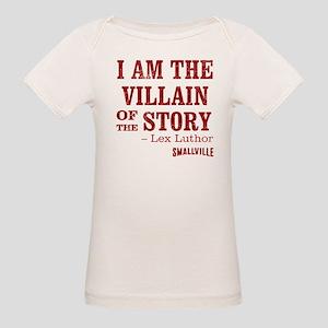 SMALLVILLE VILLAIN-STORY Organic Baby T-Shirt