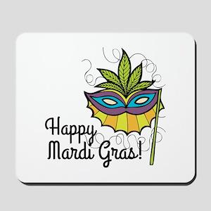 Happy Mardi Gras Mousepad