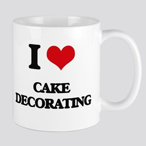I love Cake Decorating Mugs