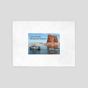 Lake Powell, Arizona, USA: Houseboa 5'x7'Area Rug