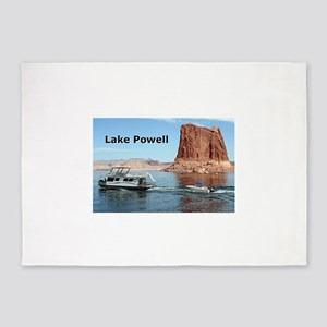 Lake Powell, Arizona, USA (caption) 5'x7'Area Rug