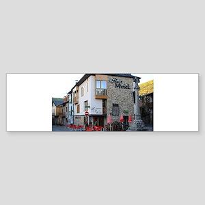 El Camino de Santiago de Compostela Bumper Sticker