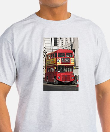 Vintage Red London Bus T-Shirt