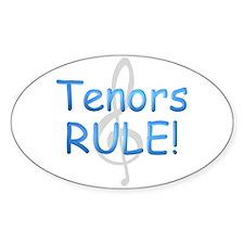 Leads Rule! Oval Sticker
