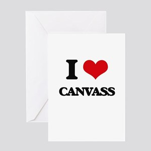 I love Canvass Greeting Cards