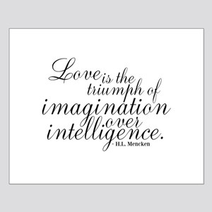 Imagination over Intelligence Posters