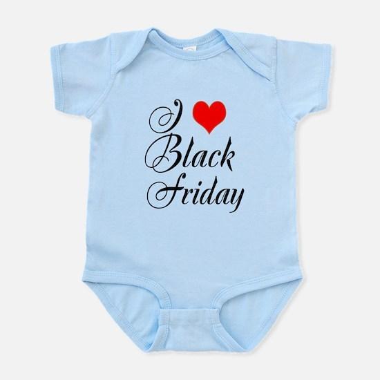 I love Black Friday Body Suit