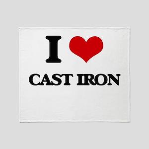 I love Cast-Iron Throw Blanket