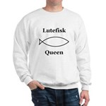 Lutefisk Queen Sweatshirt