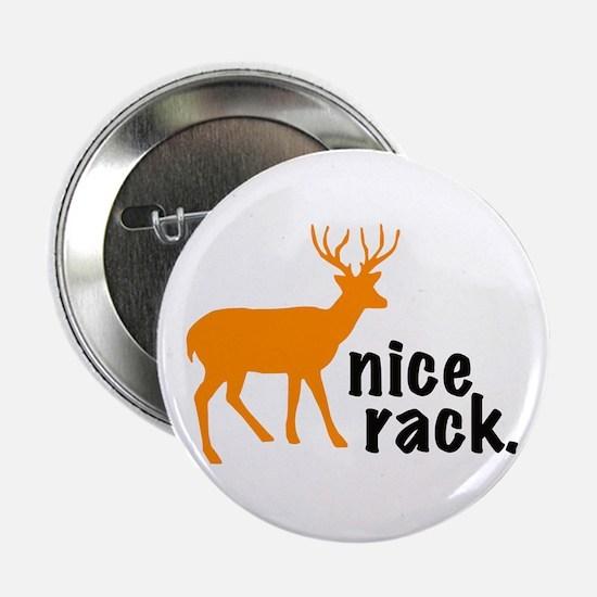 Resden Nice Rack Deer Button