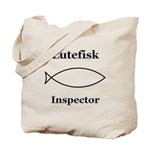 Lutefisk Inspector Tote Bag