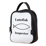 Lutefisk Inspector Neoprene Lunch Bag