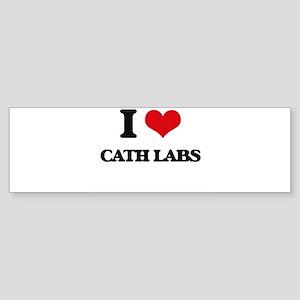 I love Cath Labs Bumper Sticker