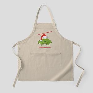Mistle-Toad Apron