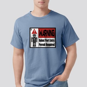 Location6-RobotPortEntrySign T-Shirt