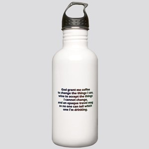 God grant me a travel Stainless Water Bottle 1.0L