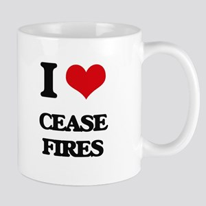 I love Cease-Fires Mugs