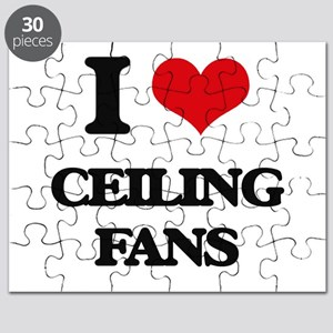 I love Ceiling Fans Puzzle