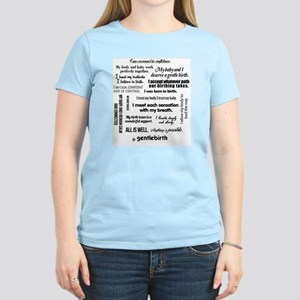 Affirmations Women's Light T-Shirt