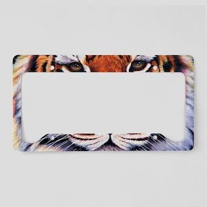 Tiger Sultan of Siberia License Plate Holder