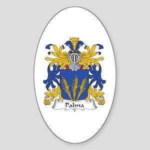 Palma Oval Sticker