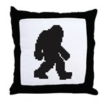 Bigfoot 2.0 Throw Pillow