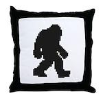 Bigfoot 2.0 Throw Pillow