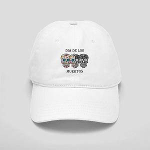 skull-day-of-dead Cap