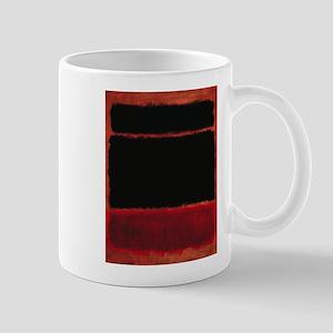 ROTHKO RED_BLACK Mugs