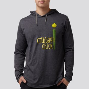Cribbage Chick Long Sleeve T-Shirt