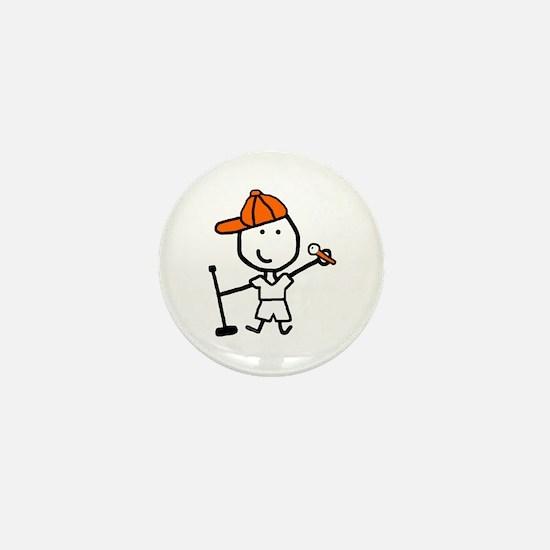 Boy & Sing Mini Button