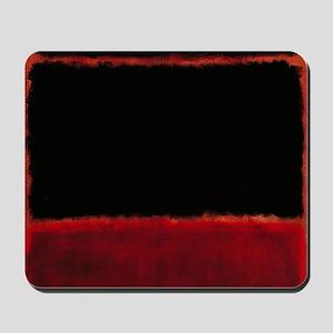 ROTHKO RED_BLACK Mousepad
