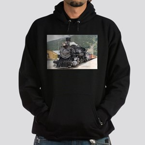 Steam train engine Silverton, Colora Hoodie (dark)