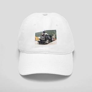 Steam train engine Silverton, Colorado, USA 8 Cap