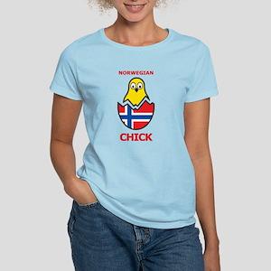 Norwegian Chick Women's Light T-Shirt